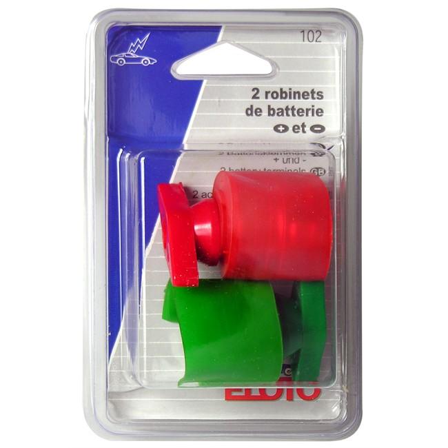 Cosses (+) et (-) pour batterie type robinet ELOTO