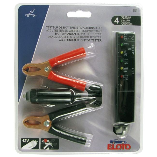 Testeur de batterie et d'alternateur ELOTO