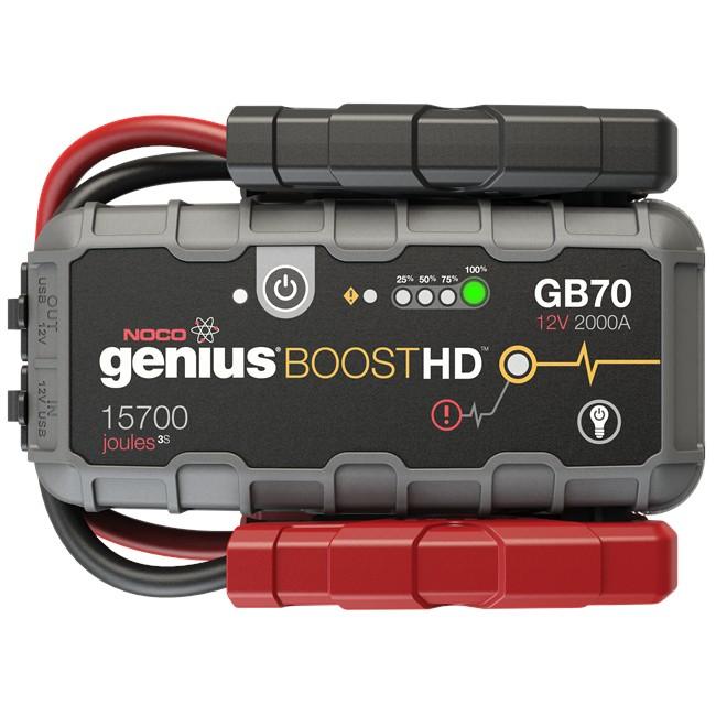 Chargeur démarreur batterie NOCO Genius GB70 2000 A 12V/24V