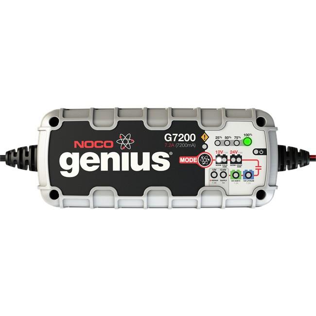 Chargeur batterie NOCO Genius G7200 7.2A 12V/24V