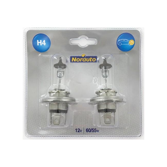 2 Ampoules Norauto H4 60/55 W 12 V