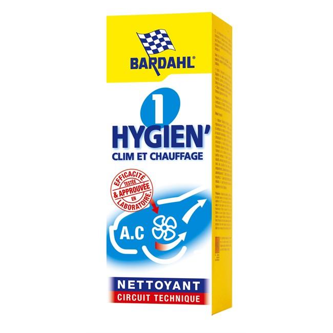 Nettoyant circuit technique clim et chauffage 1 Hygien' BARDHAL 125 ml