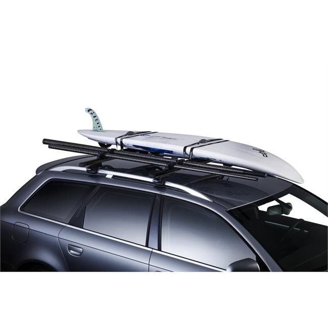 Porte-planche à voile pour barre de toit acier THULE 533