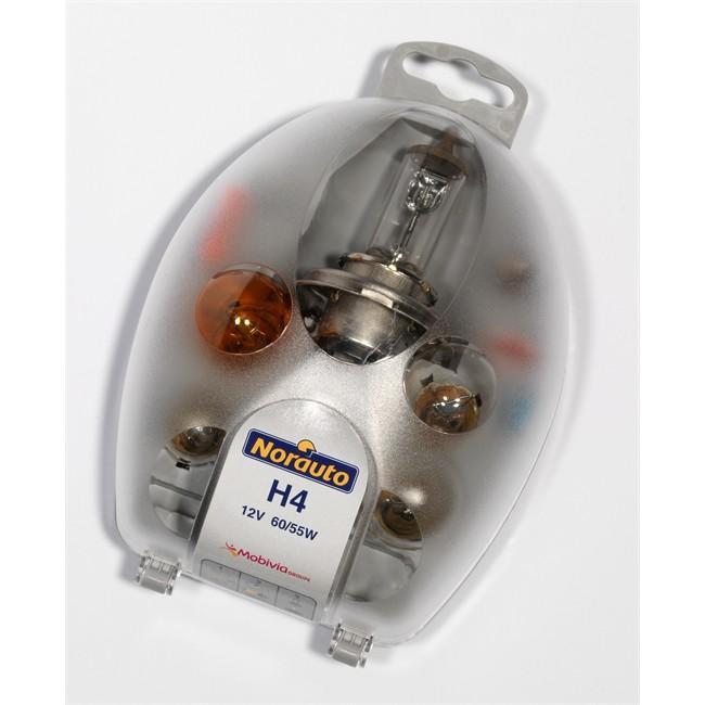 Coffret Ampoules H4 Norauto 7 Ampoules