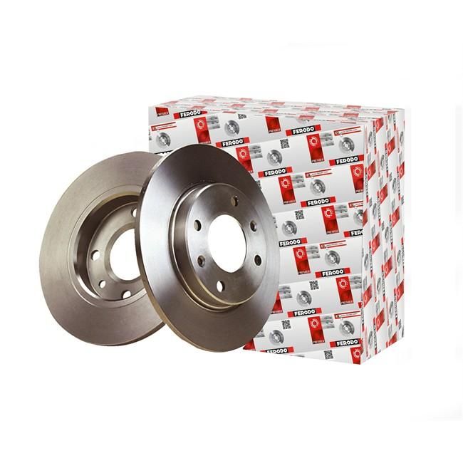 2 Disques de frein FERODO DDF233