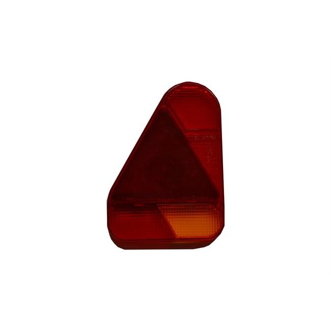 1 Cabochon Triangulaire Norauto Pour Feu Arrière Gauche 6 Fonctions