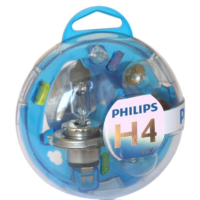 Coffret Ampoules H4 Philips 5 Ampoules