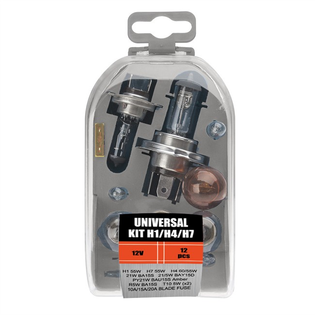 Coffret Ampoules H1 H4 H7 12 Ampoules