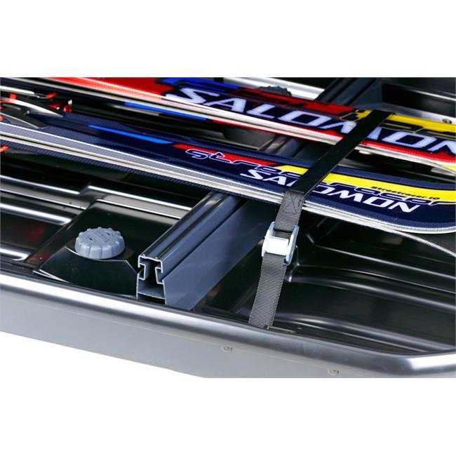 2 adaptateurs porte-skis pour coffre Thule 6948