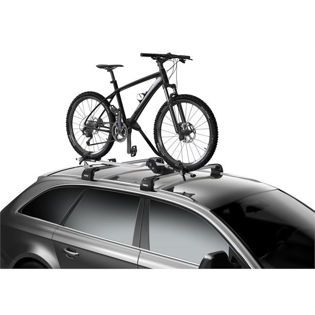Porte-vélo de toit THULE ProRide 598 aluminium pour 1 vélo