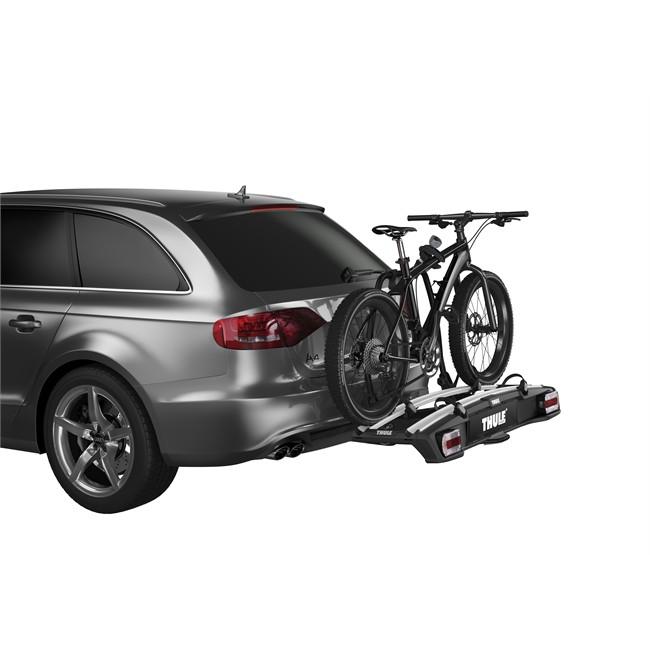 Porte-vélos d'attelage THULE Velospace 918 pour 2 vélos compatible vélos électriques