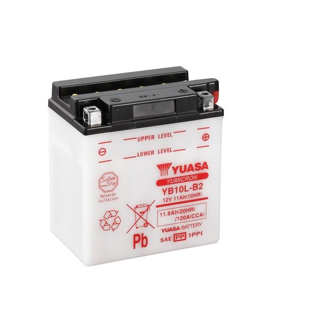 Batterie moto YUASA YB10L-B2