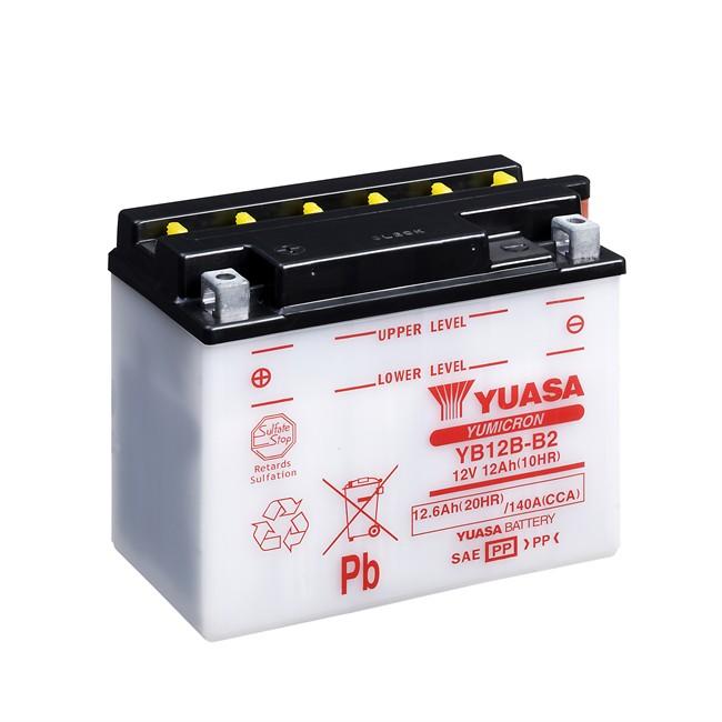 Batterie moto YUASA YB12B-B2