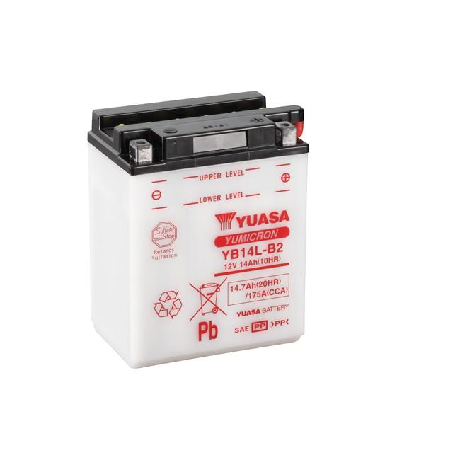 Batterie moto YUASA YB14L-B2