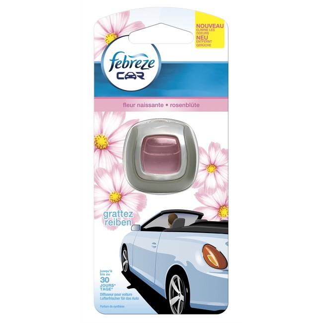 Désodorisant auto FEBREZE Car Fleurs Naissantes