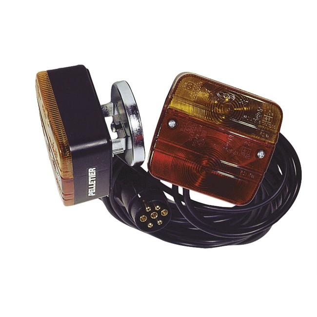 Kit D'éclairage Magnétique Avec Câble Entre Feux De 2,5 M Et Câble D'alimentation De 4,5 M Spotlight