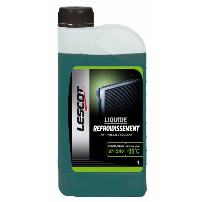 Liquide De Refroidissement Vert -35°c Lescot 1 L
