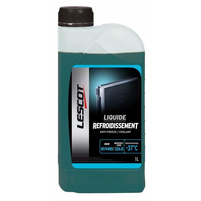Liquide De Refroidissement Bleu -37°c Lescot 1 L