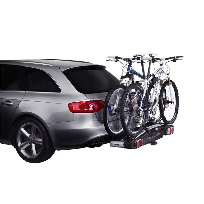 Porte-vélos d'attelage plate-forme THULE EuroClassic G6 928 pour 2 vélos compatible
