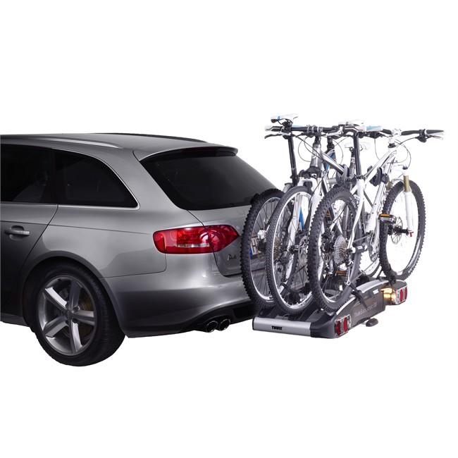Porte-vélos d'attelage plate-forme THULE EuroClassic G6 929 pour 3 vélos compatible