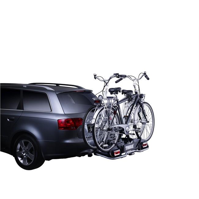 Porte-vélos d'attelage plate-forme THULE EuroPower 916 pour 2 vélos compatible vélos