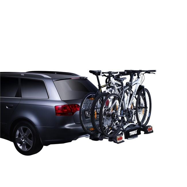 Porte-vélos d'attelage plate-forme THULE Euroway G2 923 pour 3 vélos
