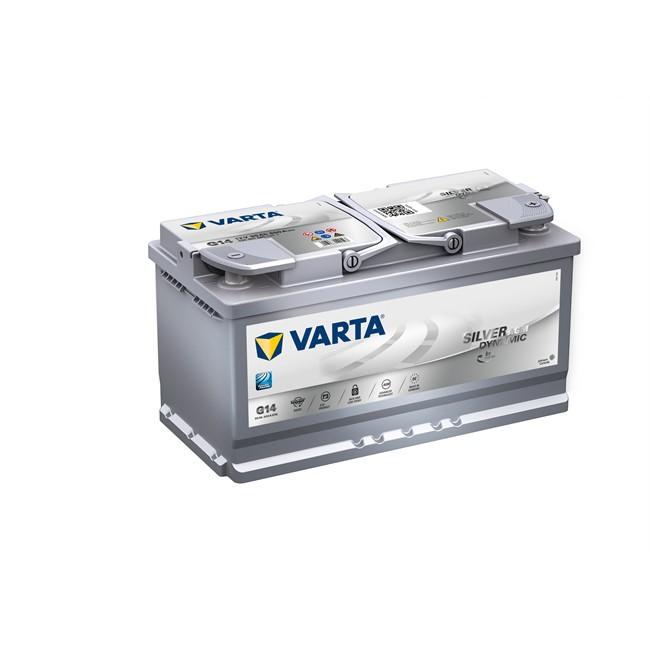 Batterie VARTA G14 Start & Stop Silver Dynamic AGM 95 Ah - 850 A