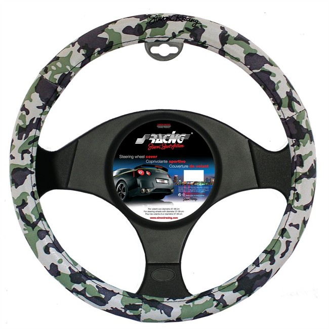 Couvre Volant Sracing Style Camouflage