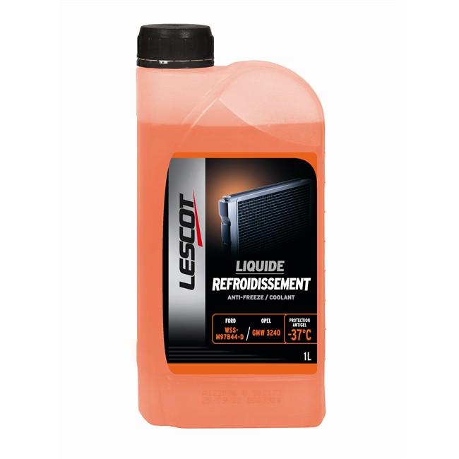 Liquide De Refroidissement Orange -37°c Lescot 1 L