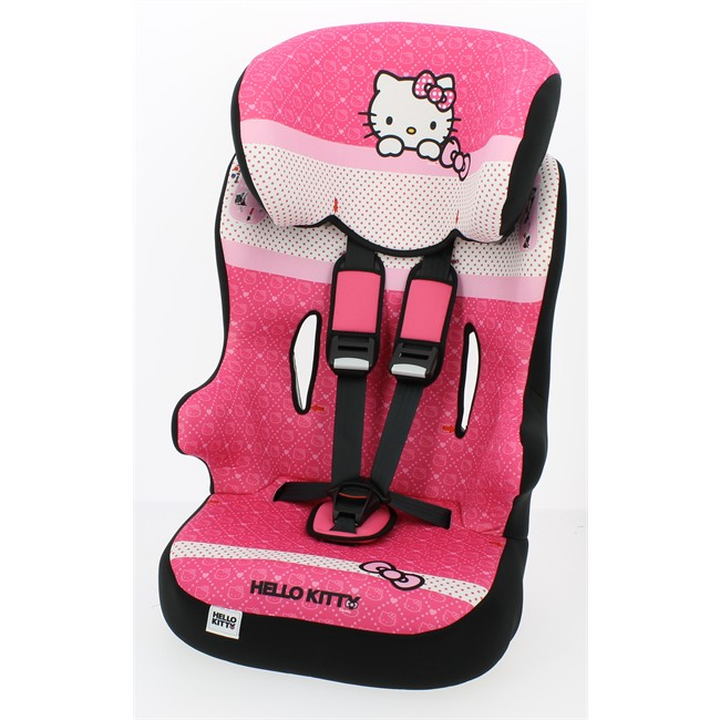 rehausseur haut hello kitty racer sp groupe 1 2 3. Black Bedroom Furniture Sets. Home Design Ideas
