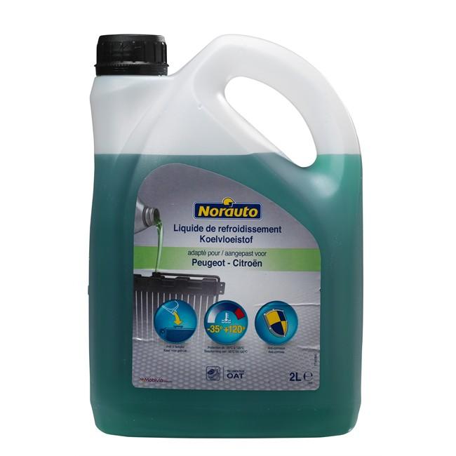 Liquide De Refroidissement Vert -35°c Norauto 2 L