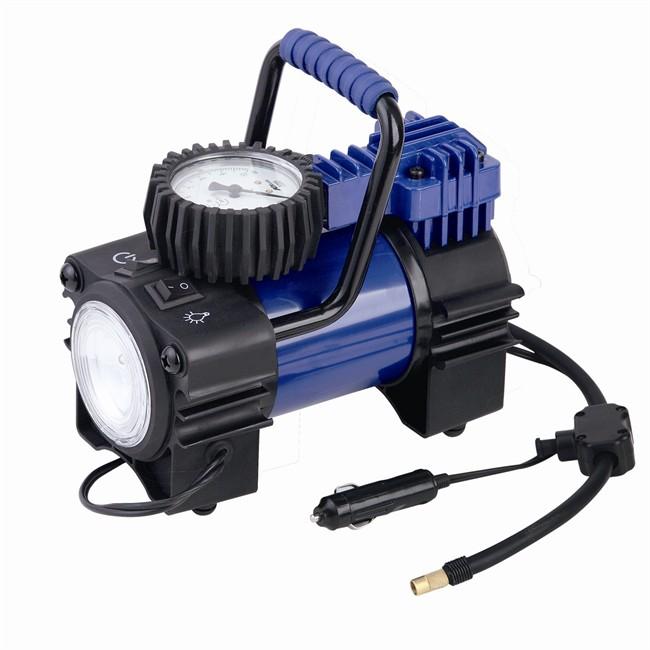 produit mini compresseur v norauto avec led et manometre homologue